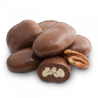 Chocolate Amaretto Pecans